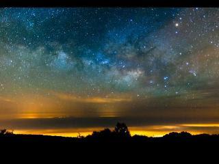 銀河的一個禮拜 定時攝影