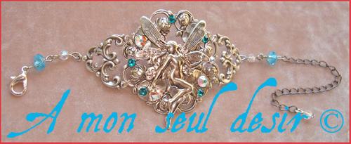 bracelet fée féerique elfe elfique bijou fairy jewel
