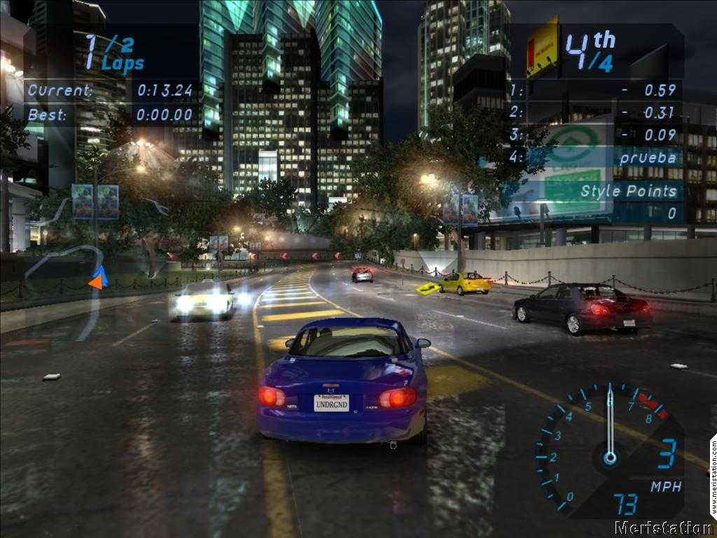Need For Speed Underground System Requirements