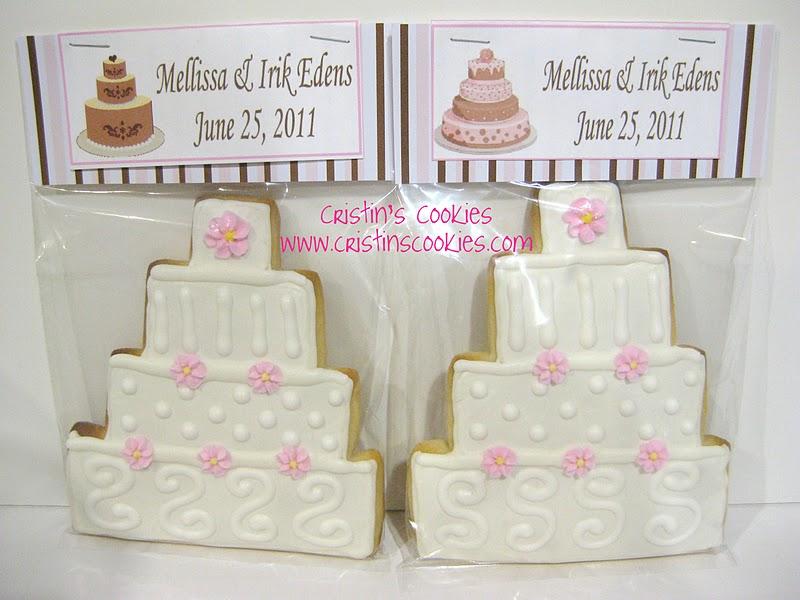 Cristins Cookies Wedding