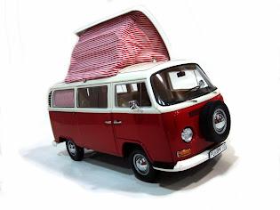 Volkswagen T2a Campingbus '67 - Schuco