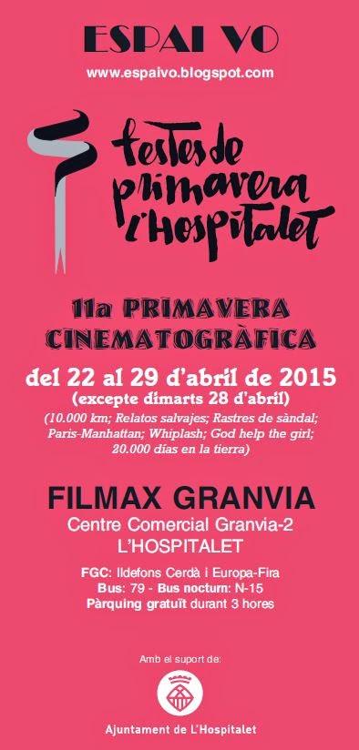 TOTA LA PROGRAMACIÓ DE LA 11a PRIMAVERA CINEMATOGRÀFICA