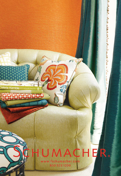 Schumacher Also Makes Wallpaper, Upholstery Fabric, And Furniture I Love It  All. The Author Of The Blog Stylebeat, Marisa Marcatonio, Has Amazing  Photou0027s ...