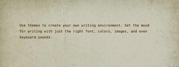 WriteRoom editing window