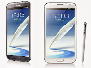 Galaxy Note 2 Android cellphone specs