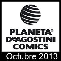 Planeta DeAgostini Cómics: Novedades Octubre 2013