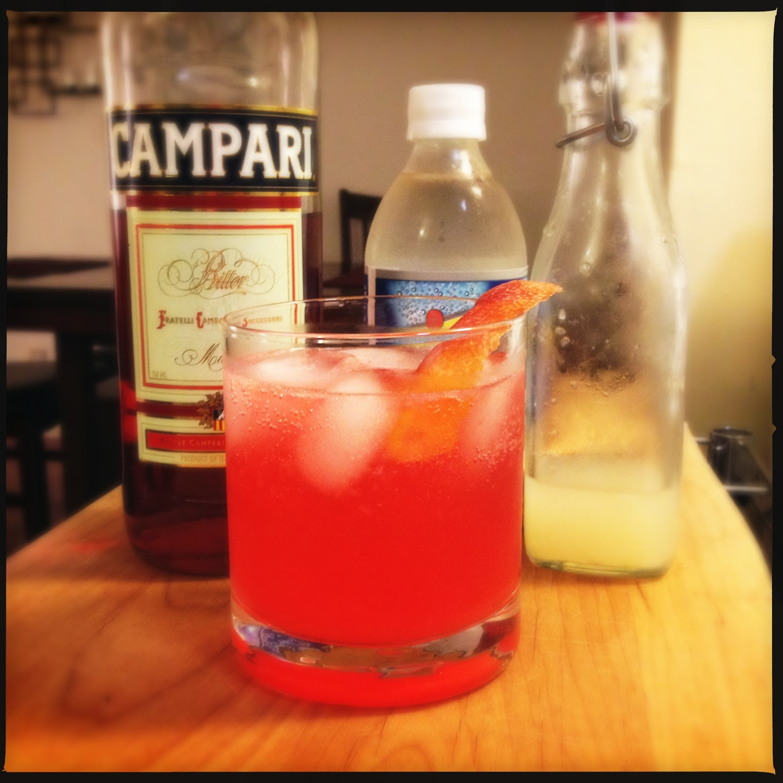 cocktail campari and orange sorbet fresh grapefruit campari cocktails ...