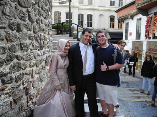 Noah Attending A Galata Tower, Istanbul Wedding