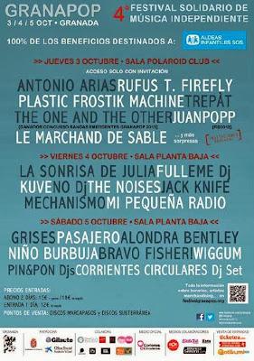 Festival Granapop 2013 Granada