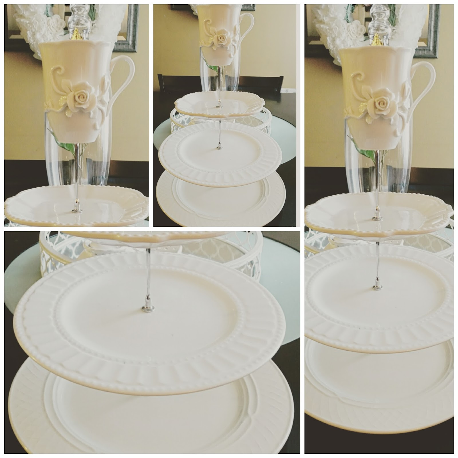 Tier Cake Stand   PRETTY TWINKLE PARTY