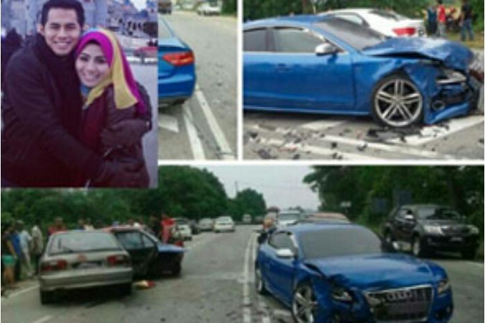 Kemalangan Pengikut laman sosial dakwa kereta Fizo Omar dipandu laju