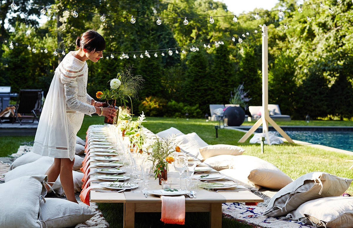 Outdoor entertaining ideas athena calderone s dream dinner party