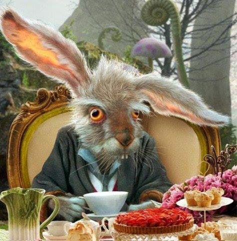 ♥ ♣ March Hare At Mad Hatter Tea Party! ♣ ♥
