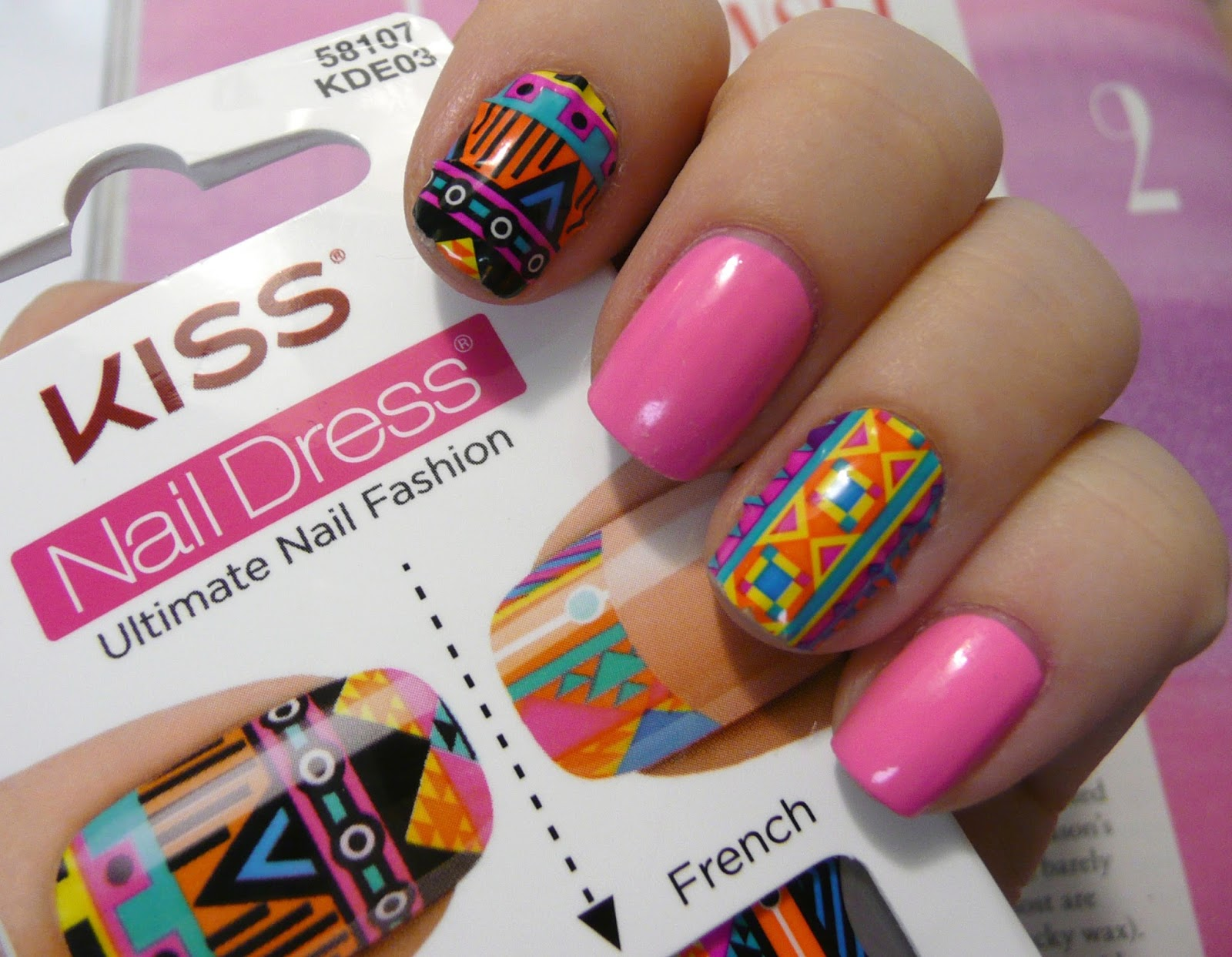 NOTD: Neon Tribal | Kaitlyn Elisabeth Beauty