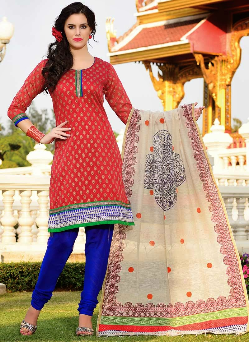 http://www.cbazaar.com/salwar-kameez/printed-salwars/red-art-silk-churidar-suit-p-slaspa135.html