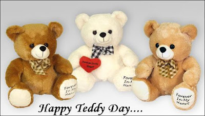 Teddy day Sms for him