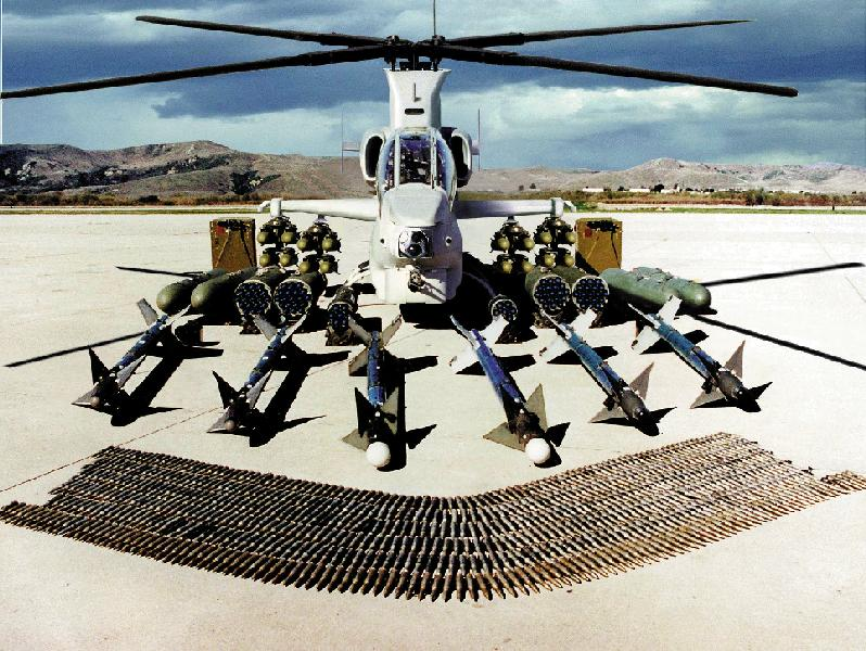 AH-1 Cobra US Army Attack helicopter