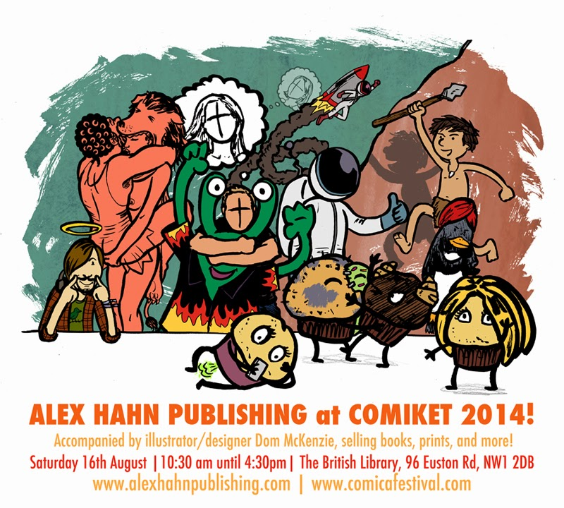 Alex Hahn Publishing at Comiket 2014
