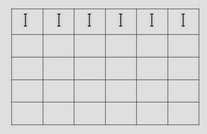 Alfabeto Pontilhado Letra I