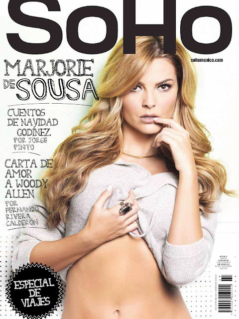 Actress, Model, @ Marjorie De Sousa - SoHo Mexico, December 2015
