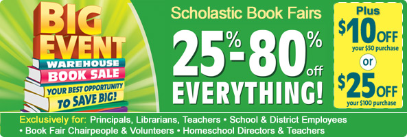 Scholastic Book Warehouse Sale