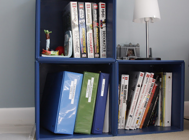 Itso cubes as bookshelves