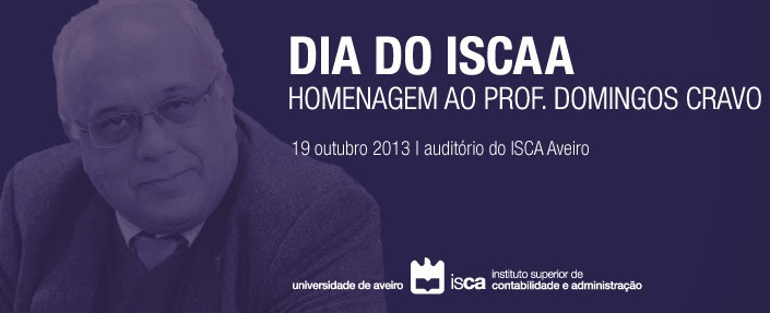 DIA DO ISCAA - HOMENAGEM AO PROF. DOMINGOS CRAVO