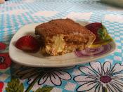 Tiramisu com queijo mascarpone