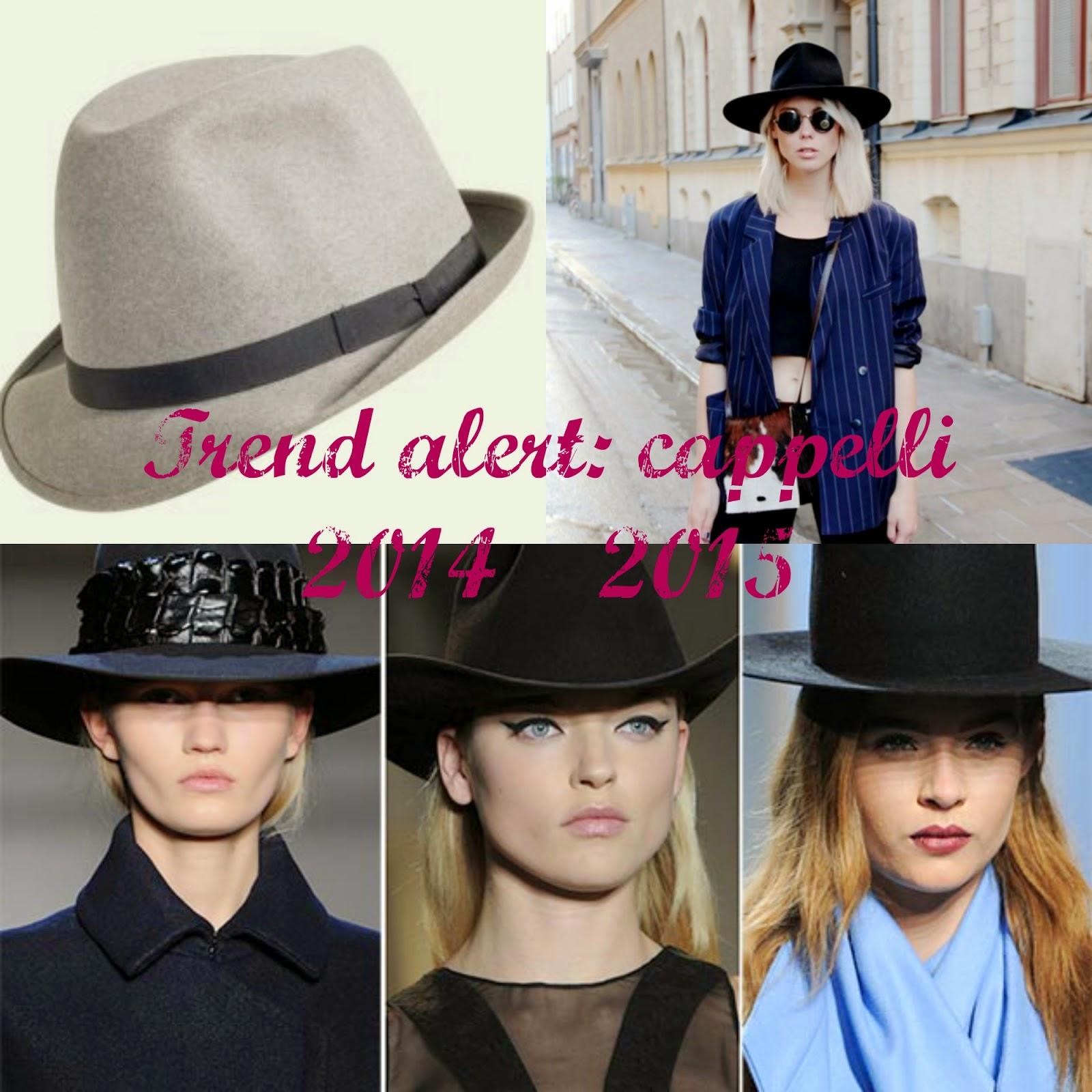 Nel post di oggi vi parliamo di trend alert per la stagione autunnale  invernale appena iniziata. Nello specifico vi parleremo di moda cappelli  2014 2015 e ... 038f75810dc1