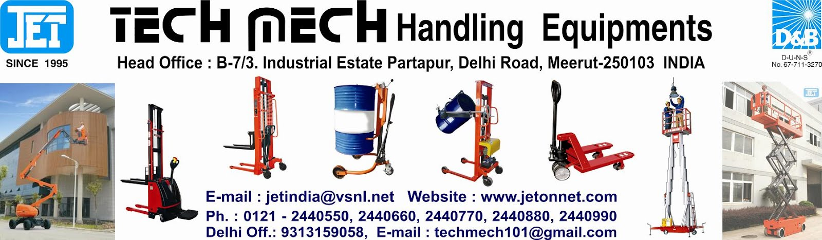 Tech Mech Handling Equipments
