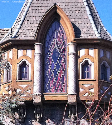 Snow White's Scary Adventures Evil Queen window Disneyland