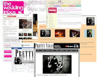 Websites Pretty Vegas Wedding Band Use For Promotion