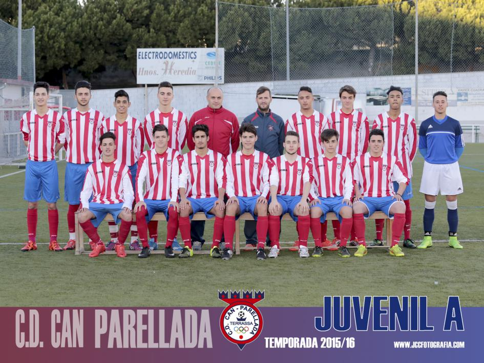 JUVENIL A. C.D.CAN PARELLADA TEMPORADA 2015-16
