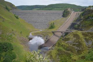 Llyn Brianne Dam