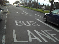 Driving on Bus Lanes