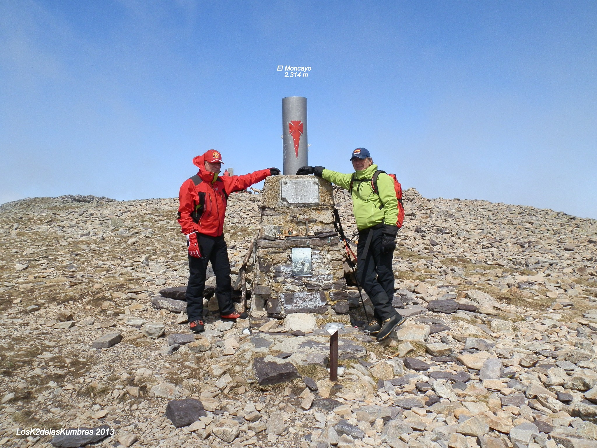 Cumbre en El Moncayo