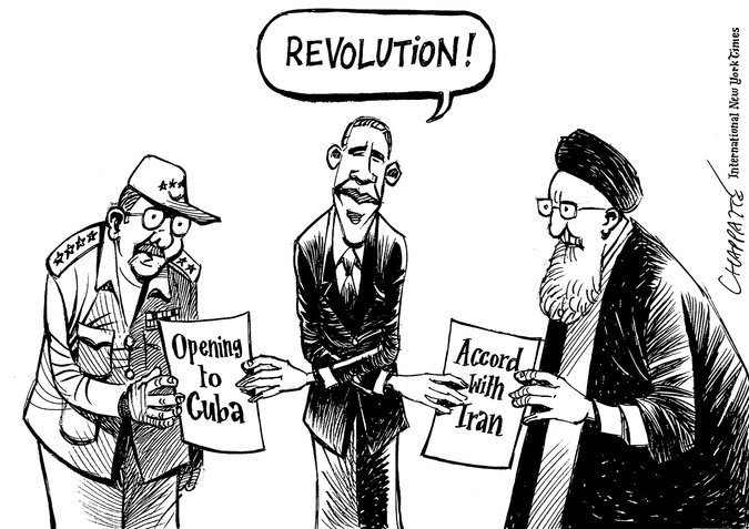 "The ""Obama doctrine"" and the ""Obama revolution"""