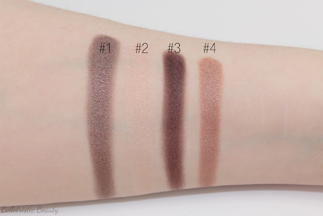 Chanel Tissé Rivoli 226 Les 4 Ombres Multi-Effect Quad swatches, Summer 2014, Collection in studio lighting with forced flash