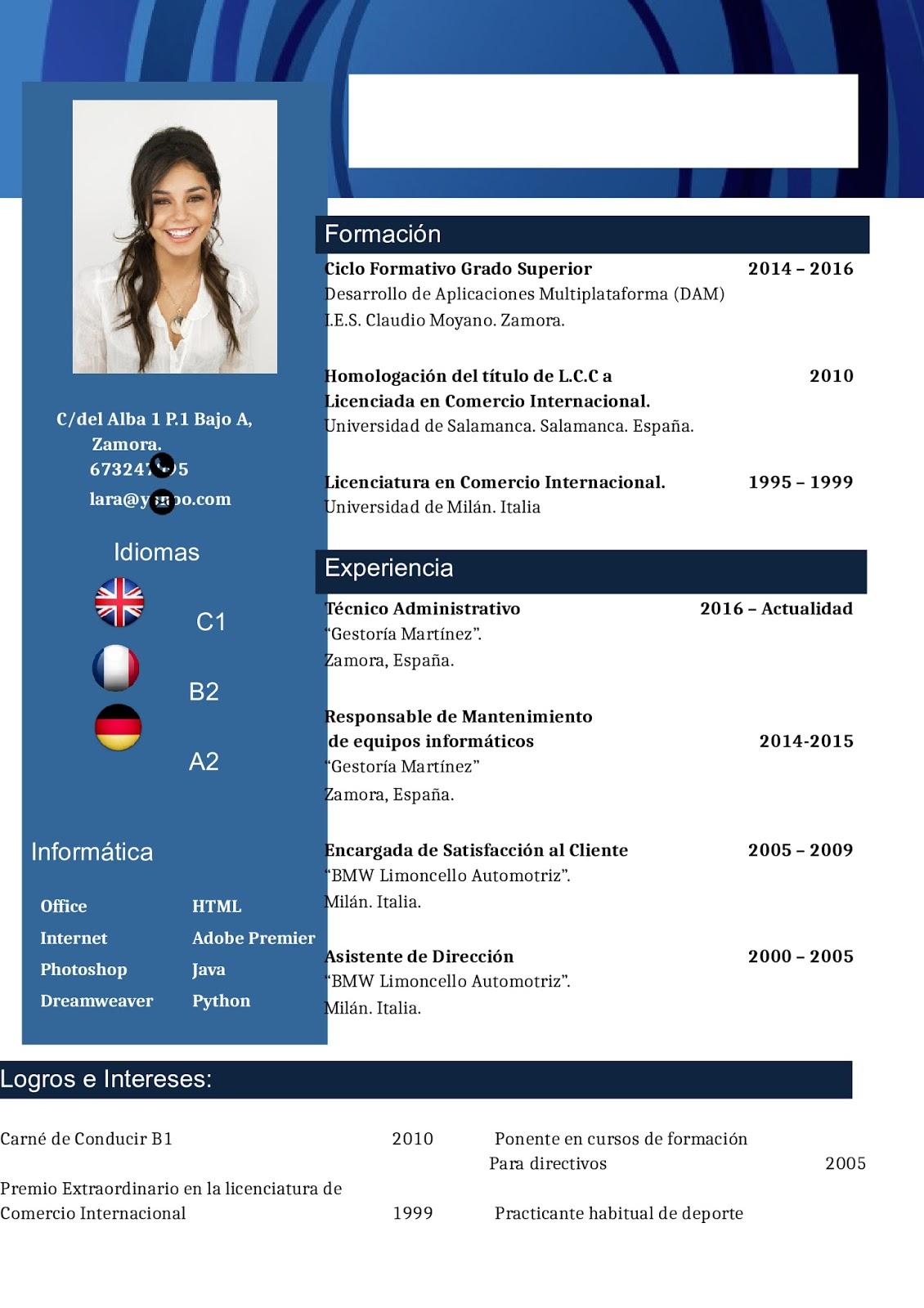 Mírate el ombligo: Perfil Profesional y Perfil del Puesto