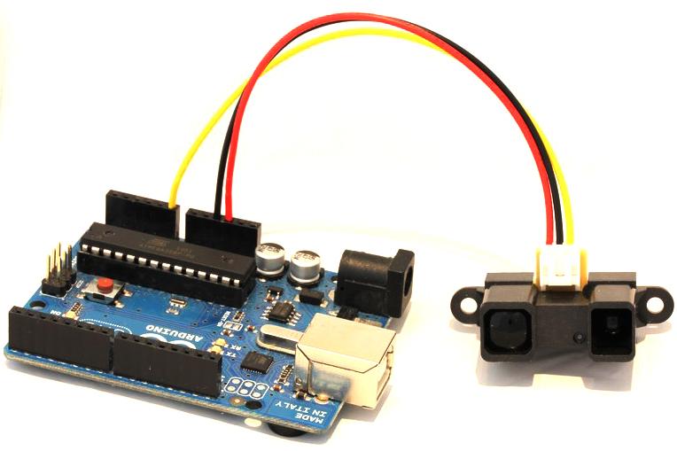 Robotosh arduino ir proximity sharp gp y a yk f