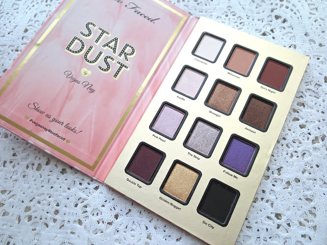 a picture of Too Faced Star Dust Vegas Nay palette
