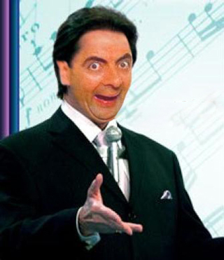 Face Mr. Bean Silvio Santos
