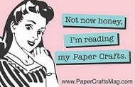 I'm on the Paper Crafts blog roll