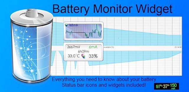Battery Monitor Widget Pro v3.14 Apk Miki