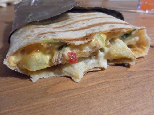 Emma 39 s cooking tacos escalope et poivrons sauce gruy re - Sauce fromage pour tacos ...
