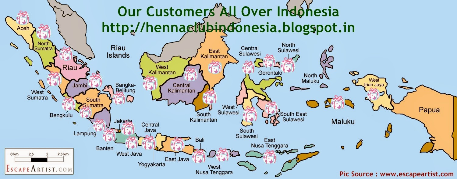 Henna Club Indonesia Testimony Customers Thank You For Shopping