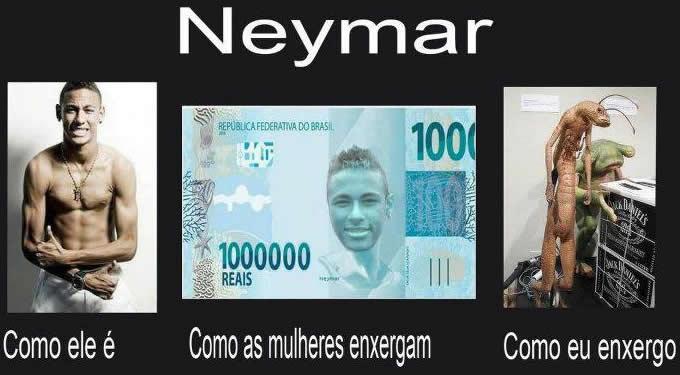 Maneiras de enxergar Neymar