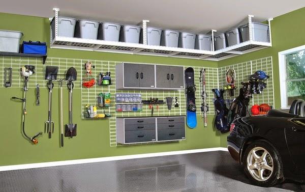 Conseils d co et relooking stockage de garage des id es for Hauteur garage sous sol
