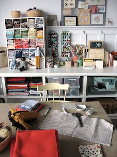 decoración craft room oficina handmade costura galiana street