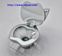 toilet elegan berbentuk apple